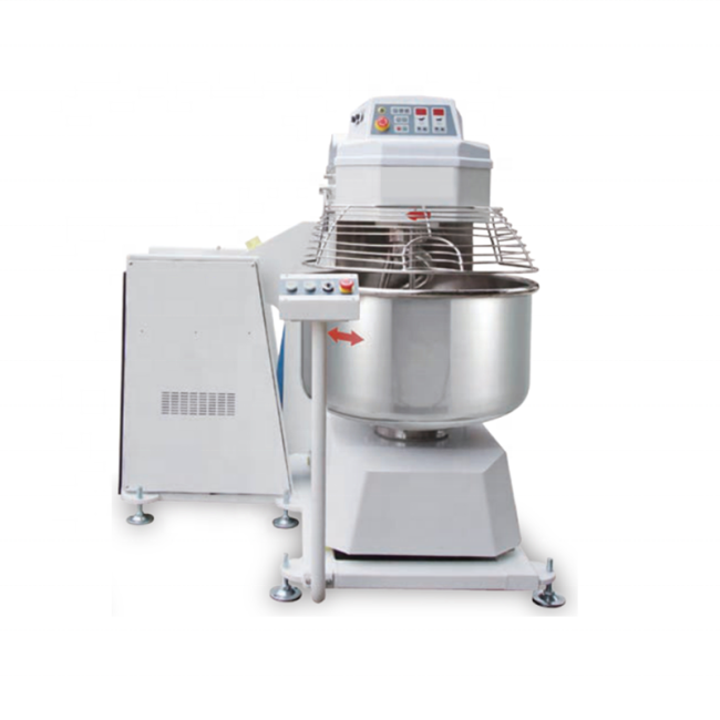 80kg Dough /Time 2 Speed Tilting Spiral Flour Dough Mixer