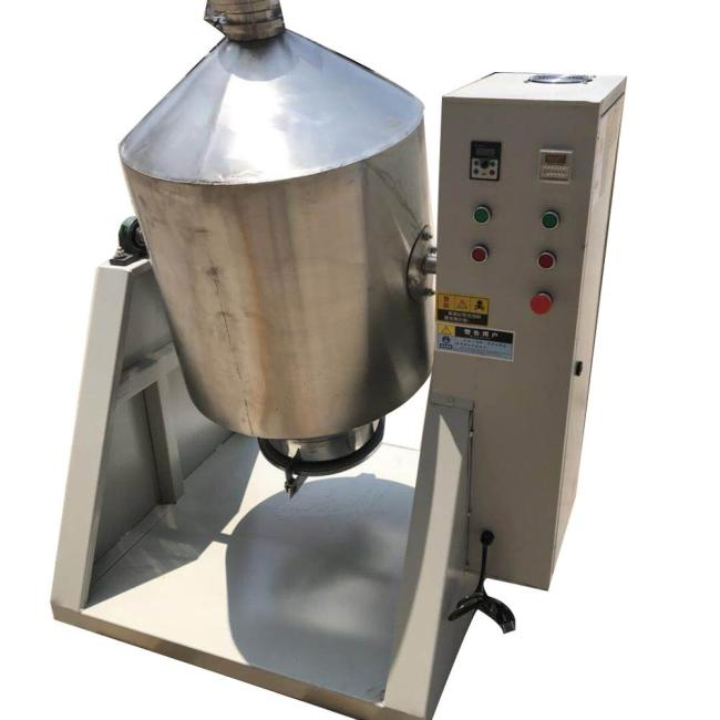 50kg/Time Durable Rotating Drum Dry Powder Mixer Machine Chemicals Mixing Machine