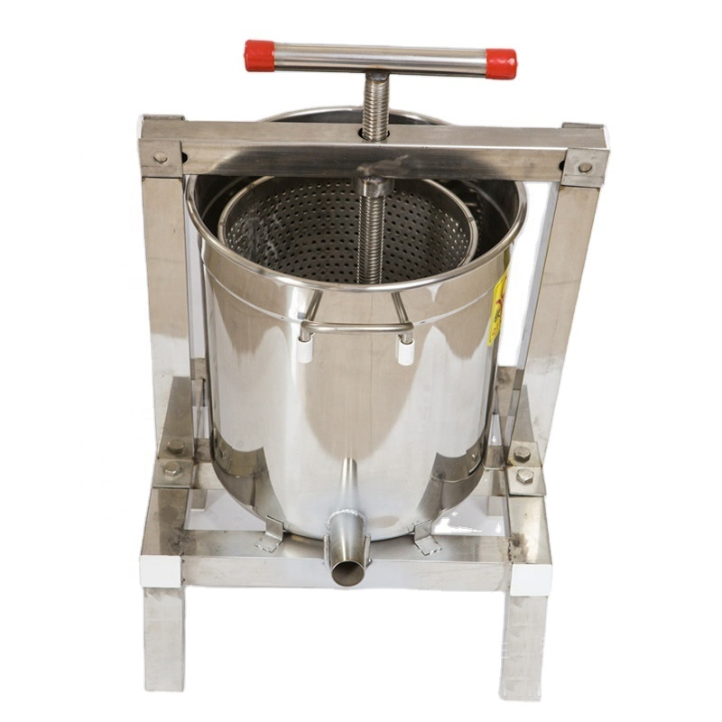 201 Stainless Steel Grape Hand Pressign Juicer  Juice Crusher Grape / Wine Juice Presser Squeezer Sale Machine Honey Bee presser