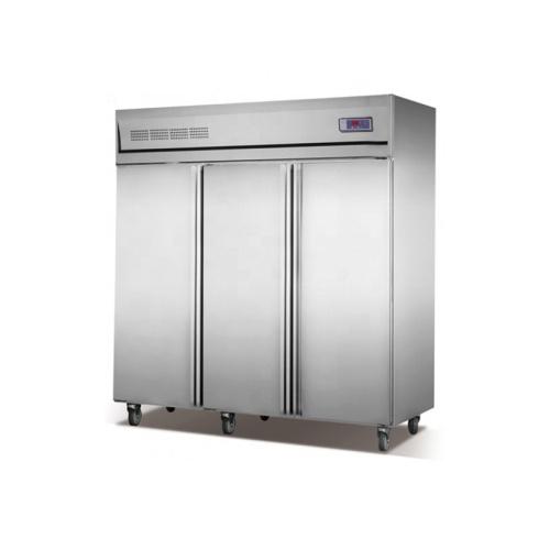-18~-22 Degree Freezer 3 Big Doors Commercial Vertical Cooler 3 Doors for Kitchen - 23 Cu. Ft.