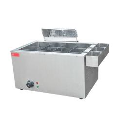 Best Selling Snack Food Machine Electric 12 Grid Oden Machine Kanto Cook Machine Donut Fryer