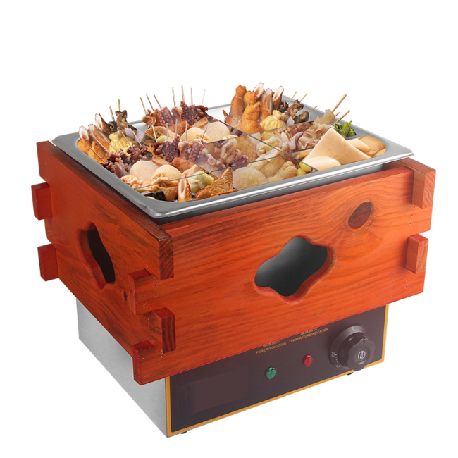 220v 50hz  Electric Boiler Oden Machine Noodle Sausage boiling Tank Kanto cooking machine