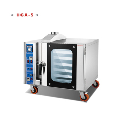 HGA-5 Stainless Steel 5 layer Trays GAS Bread Oven Hot Air convection Oven