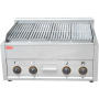 High Quality Commercial Electrical Stainless Steel Smokeless Gas Lava Rock BBQ Grill
