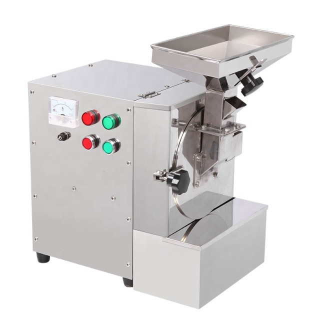 Peanuts Walnuts Sesame Oily Materials Mill Pulverizer Mini Electric Grinder With Three Specialized Mesh