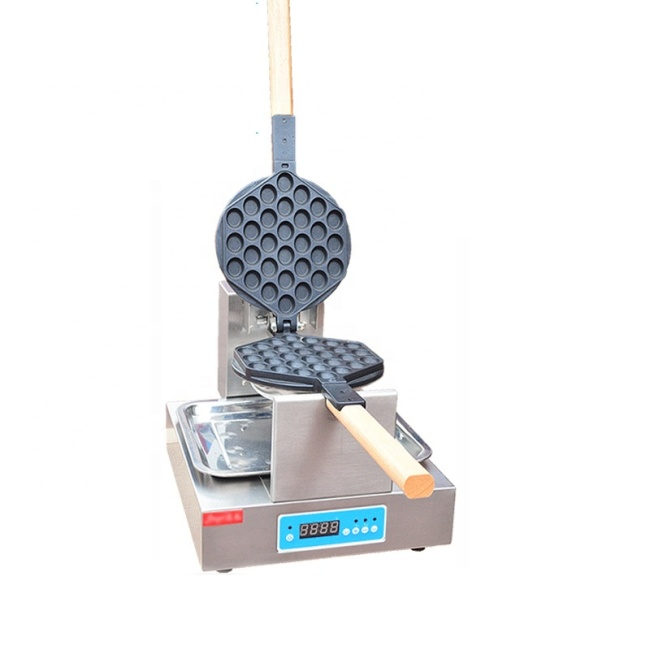 Factory Directly Sell Micro Computer Egg Puff Baker Made in China Waffle Maker Machine