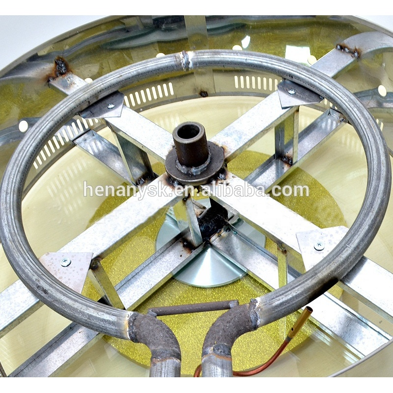 Commercial 32 Holes Red Bean Cake Machine Gas Rotating Obanyaki Maker Aluminum Plate With Pattern