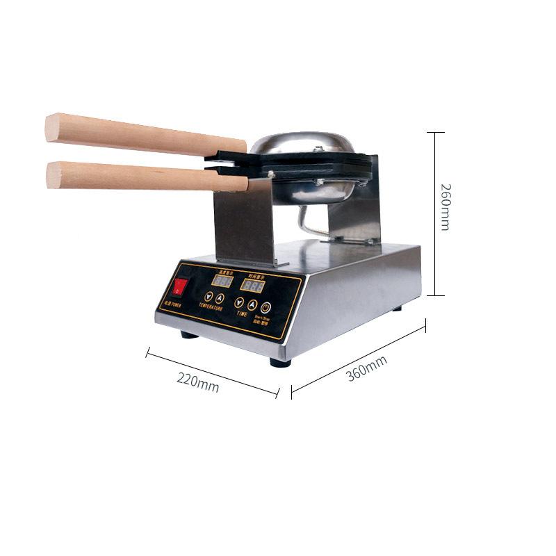 Digital display Electric HK QQ Egg Machine Electric HK Egg Cake Oven Egg Cake Waffle Maker