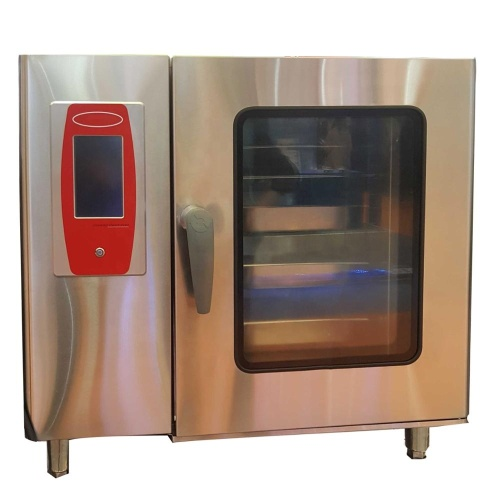 6 / 10 Trays Multi-Functional Electric Convection Steam Oven Commercial Combi Oven for Sale