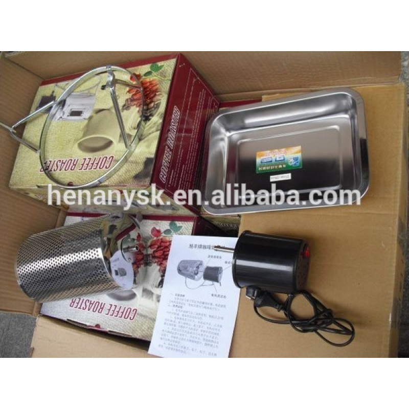 110-220V Small Capacity Electric Coffee Bean Roaster Machine Tool for Home Use