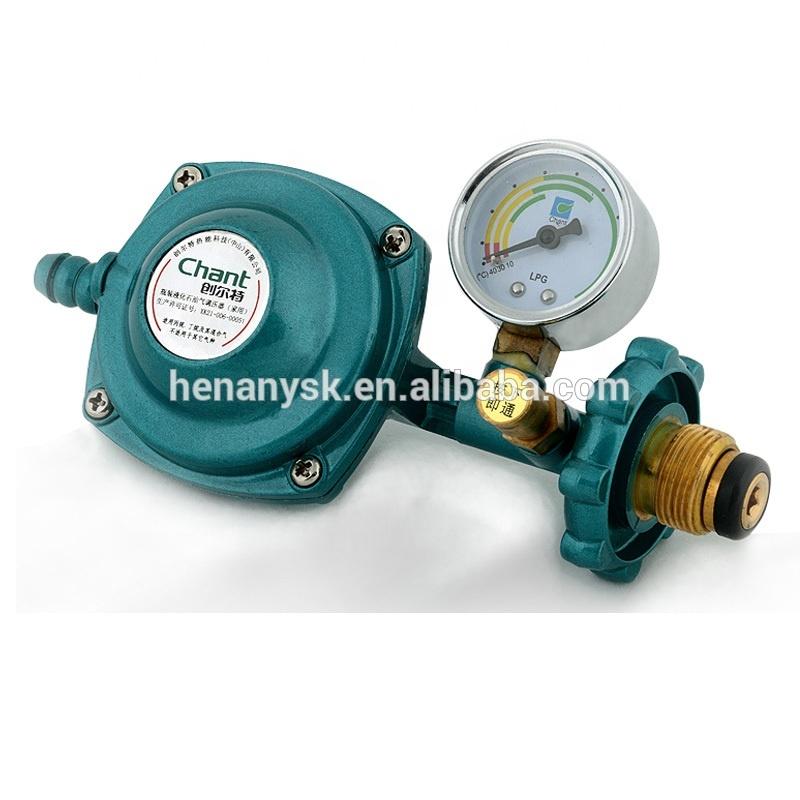Pressure Valve LPG Gas Big Flow Volume Pipeline Pressure Valves Gas Regulator Technology Safety Relief Valves for Gas/ LPG