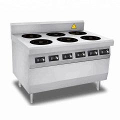 CH-3.5BZ6 New Popular Commercial 6 Burner 6 Head Industrial Induction Range Cooker Electric Vegetable Cooker for Sale
