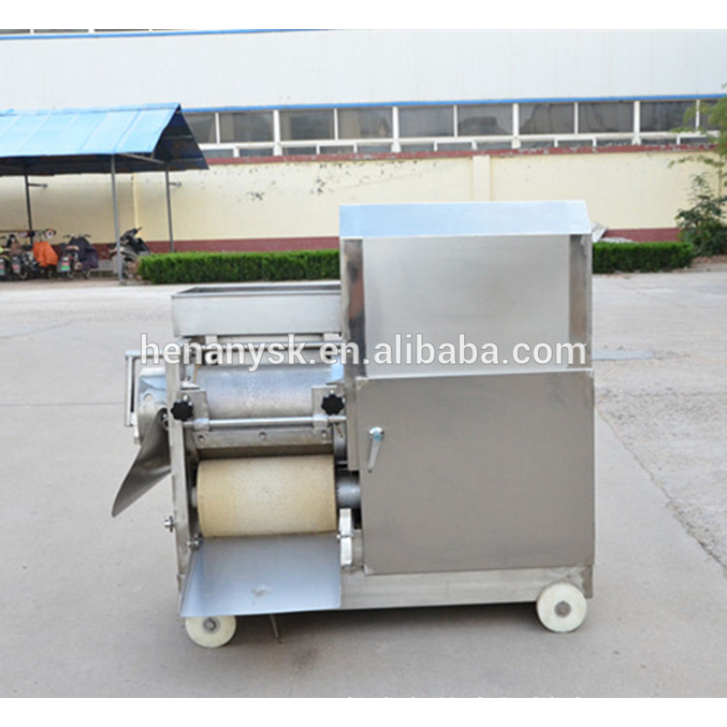 CY-150 Fully Automatic Fish Meat Bone Separator Stainless Steel Fish Flesh Separator