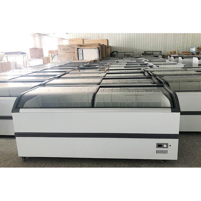 -25 degree 500L Commercial Refrigerated freezer 2 Door Supermarket Fridge Freezing Cooler