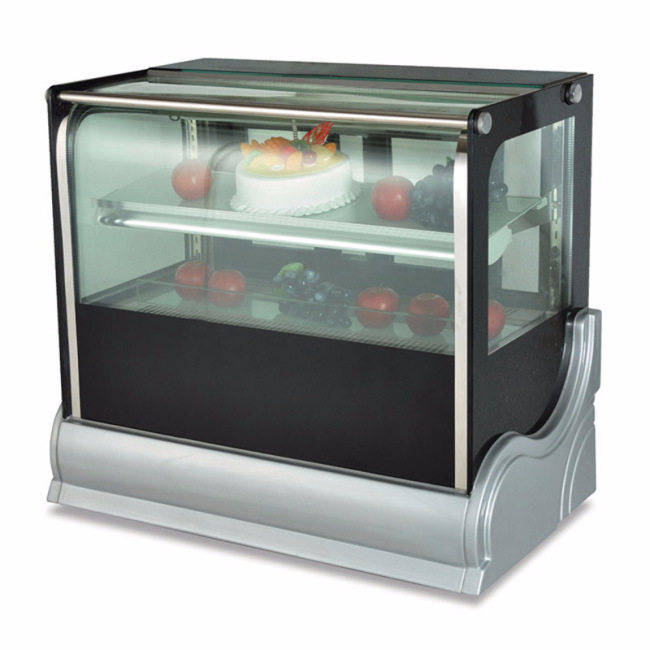 CT-90 Deluxe Desktop Refrigerated display Fresh cake cabinets Showcase