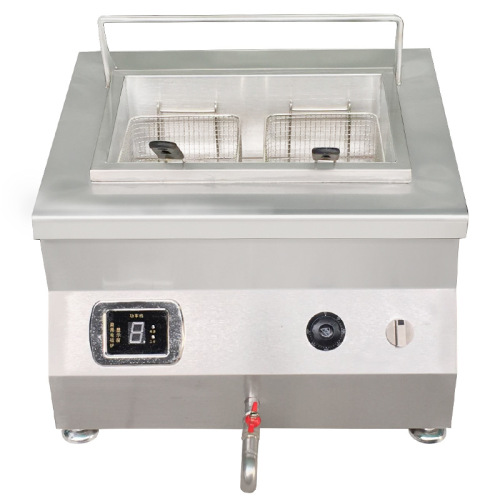 18L CH-5ZL New Popular Electric Commercial Potato Chips French Fries Induction Table Top Induction Fryer