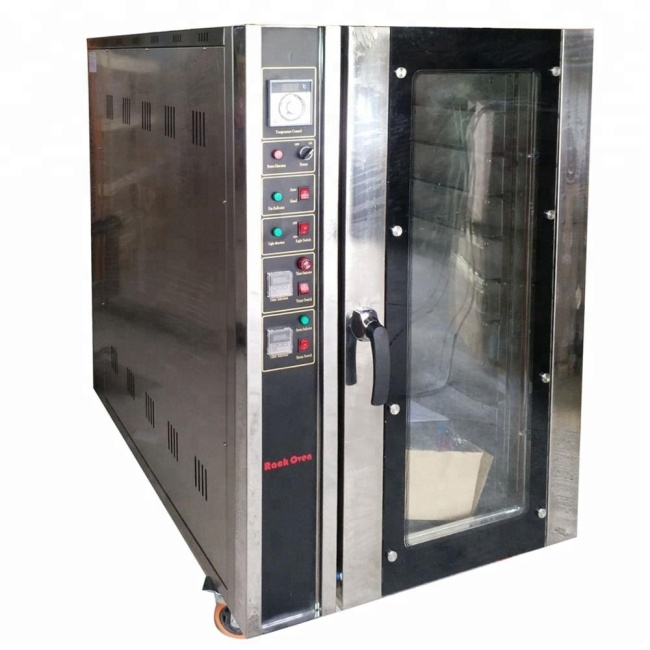 5 LAYER Stainless Steel 5 Trays Gas Electric Bread Oven Temperature Uniform Hot Air Circulating Convection Oven