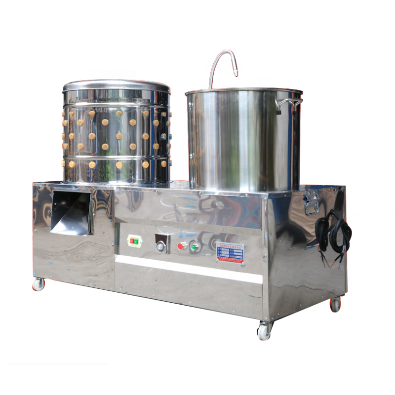Electric Chicken Boiler Bird Pigeons Poultry Plucker Duck Defeathering Machine in Canada