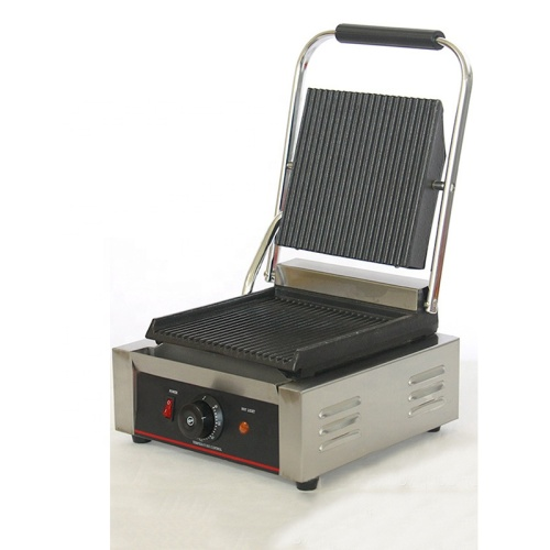 1 PLATE Sandwich Machine Griddle Grills Single Panini Plate Griddle And One Contact Grill