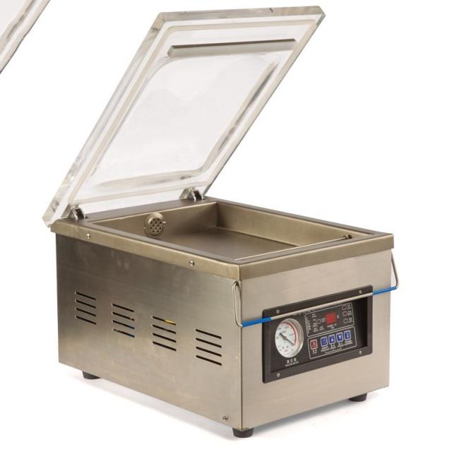 304 Stainless Steel Small Desk Top Vacuum Packaging Machine Food Plastic Bag Vacuum Packing Machine