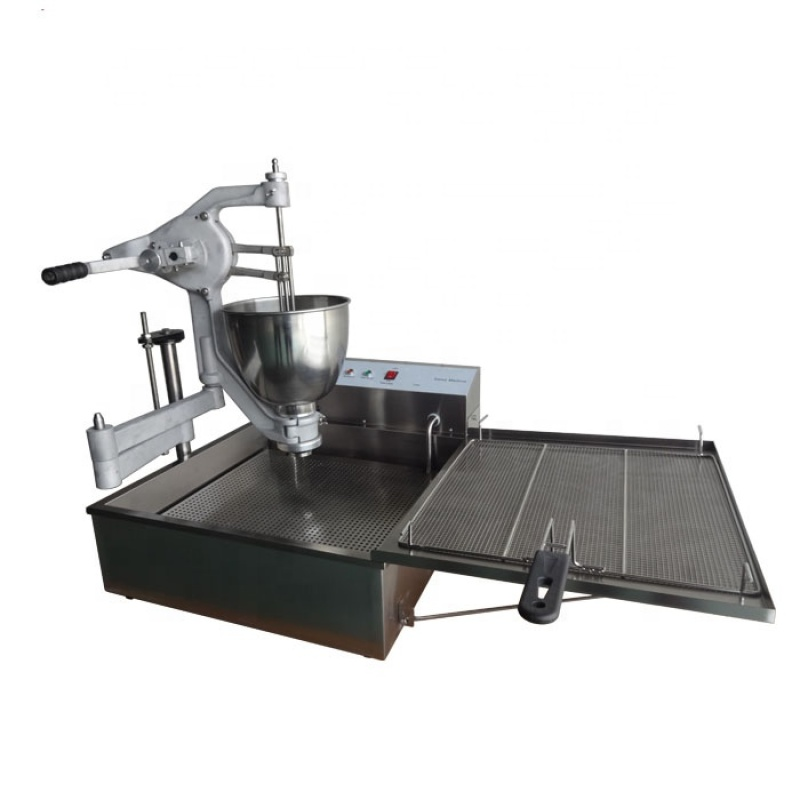 2018 Trending Products Manual Semi Automatic Donut Making Maker Machine 1025 With Fryer