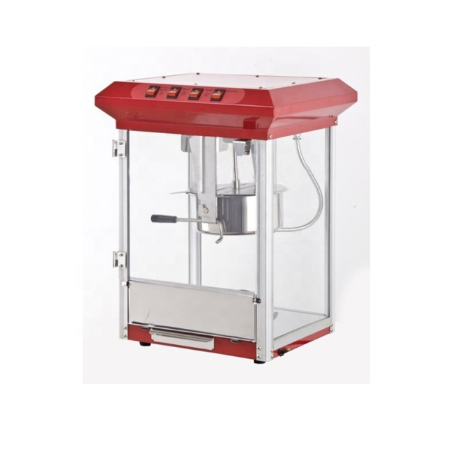 IS- ET-POP6E-B Mini Commercial High Efficiency Popcorn Machine Popcorn Popper Popcorn Machine