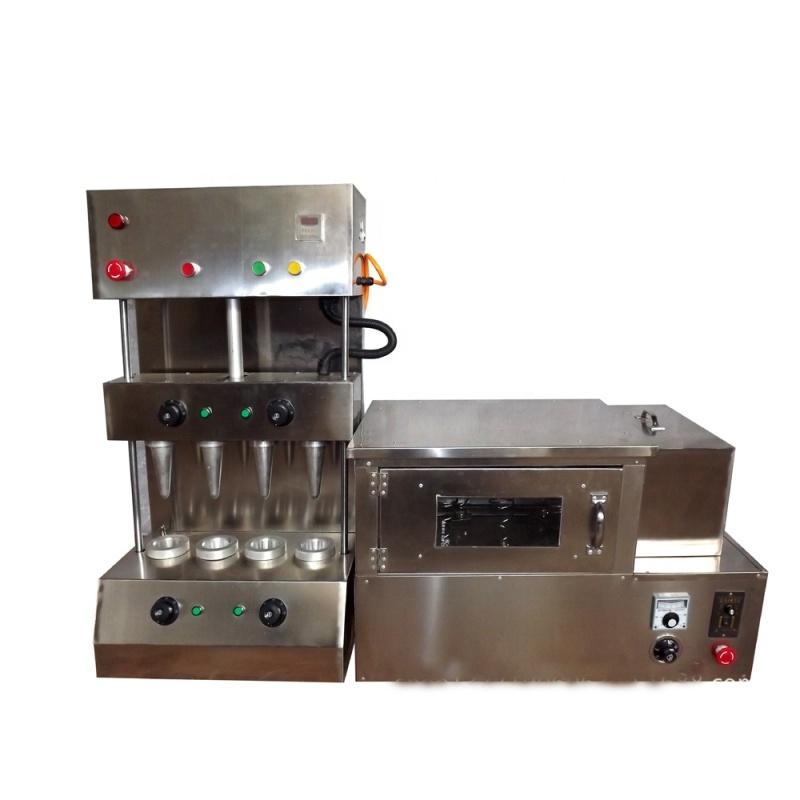 Automatic Incense Sugar Icecream Wafer Cone Press Kono Maker Oven Pizza Base Making Machine for Sale Restaurant Warmer Showcase