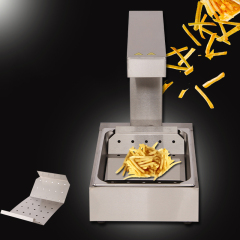 FY-620 KFC Chip Warmer Display showcase French fries chips worker holding cabinet Fast food equipment
