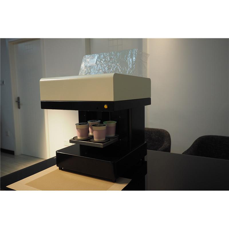 Fast 20*20cm print area 4 cups / time Let's Edible Cake Selfie Latte Art Printing Coffee Printer Machine
