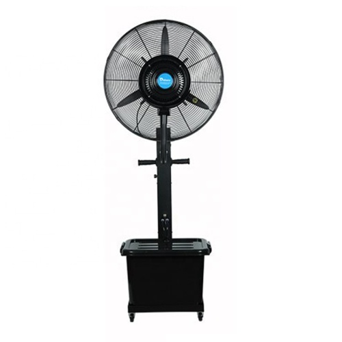 Pedestal Table Vapor Cooling In Pakistan With Spray India Chilled Water Cassette Type Mist Fan