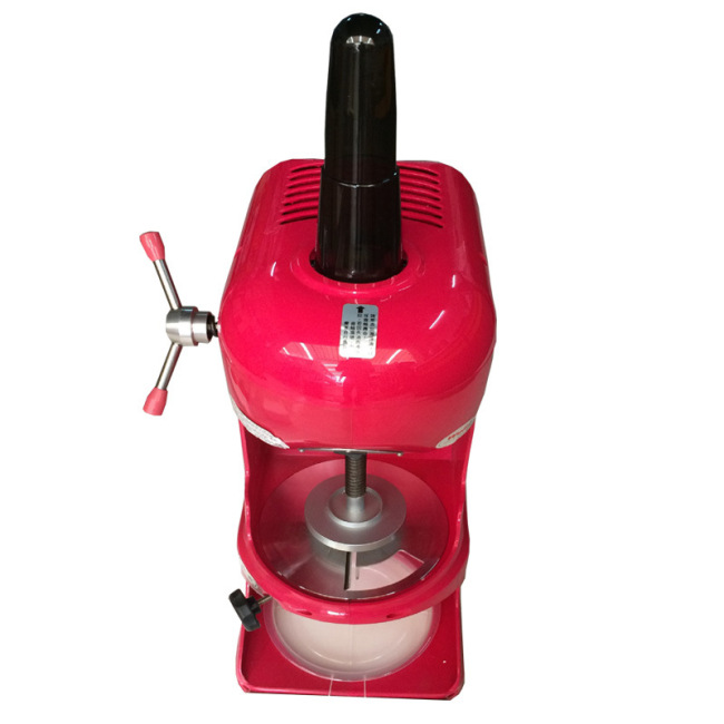 Best Selling Commercial Continuous Snow Ice Shaving Machine Shaver Ice Cream Block Slicing Machine