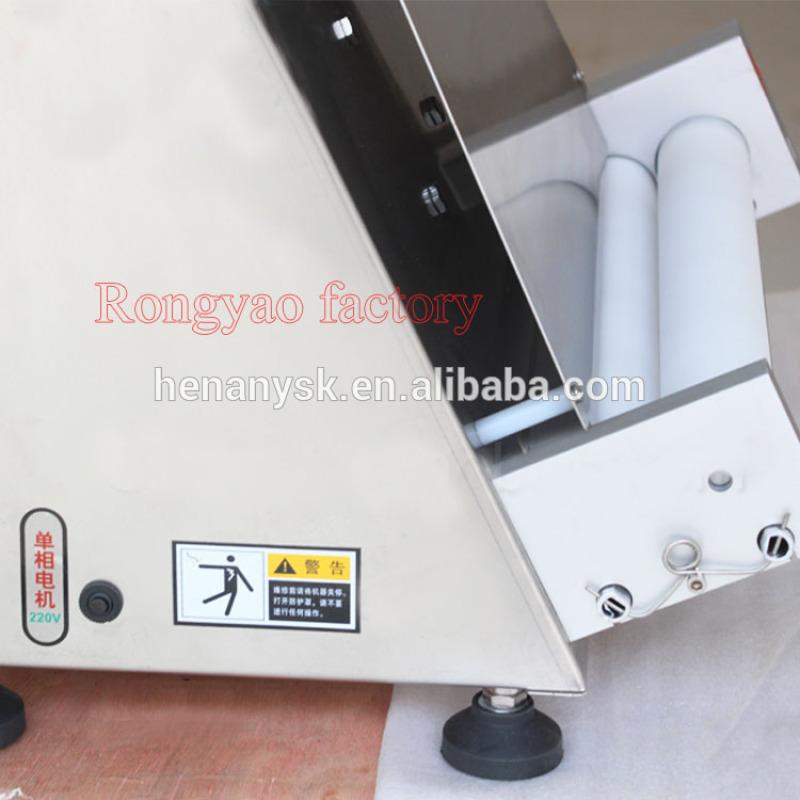 0.5-5.5mm 12 Inch Pizza / Dough Flattener Pizza Press Dough Roller Sheeter Making Machine