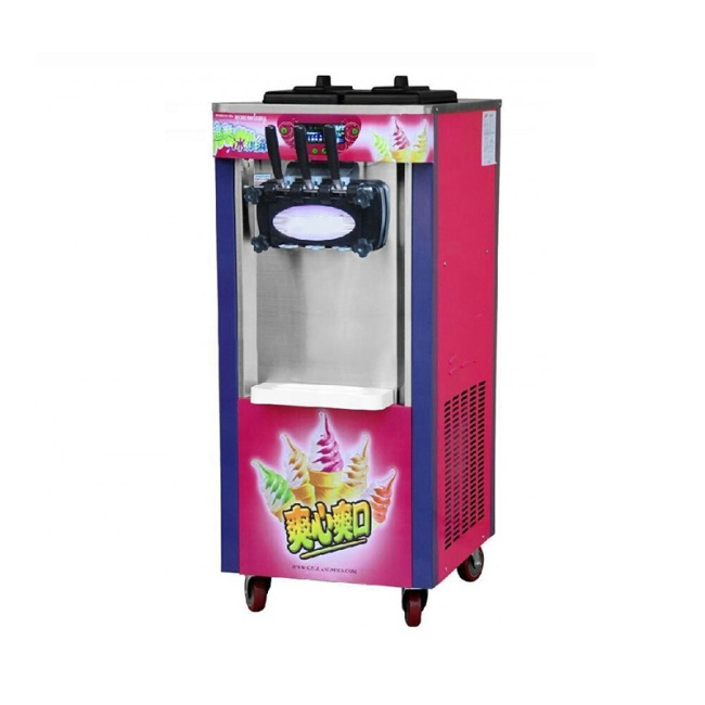 25-30L /H Hottest 3-Color Soft Ice Cream Machine