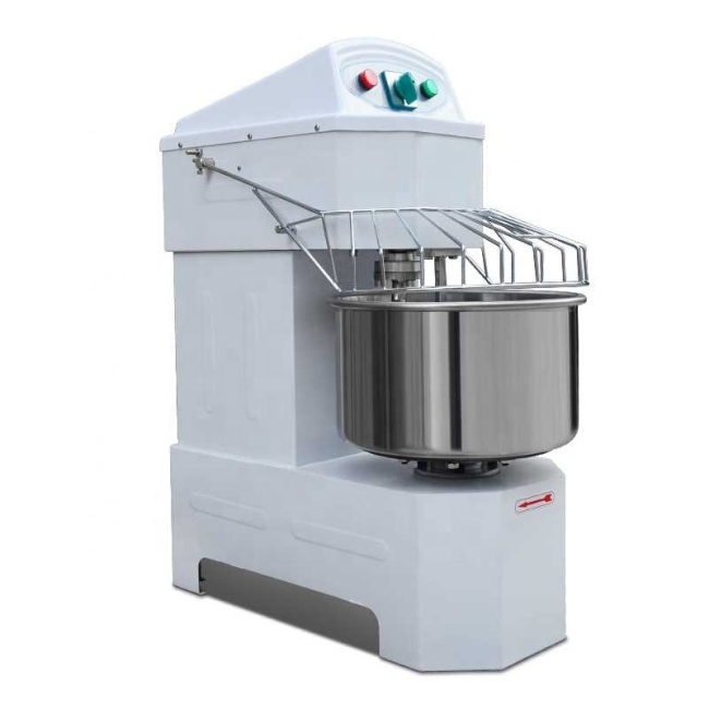 20L 30L 40L Electric Stainless Steel Dough Mixer Spiral Flour Mixing / Kneader Machine Hot Sale Dough Equipment