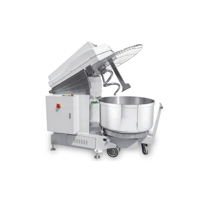 120kg Dough /Time 2 Speed Tilting Spiral Flour Dough Mixer