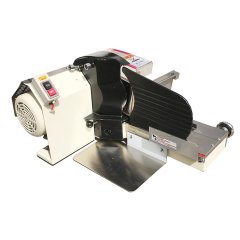 Low Price Mechanical Adjustable Manual Loaf Hand Automatic  Electric Commercial Knife Cheese Bread Slicer Machine for Sale