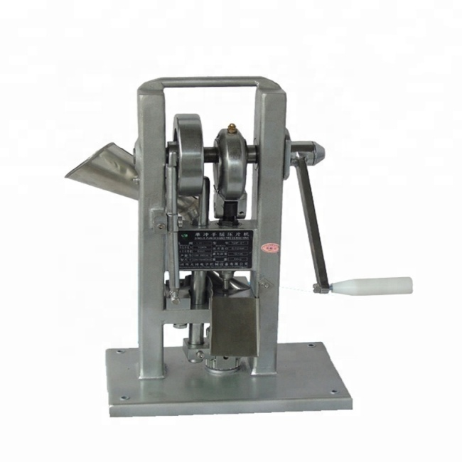 2019 Hand Cranking Hand Cranking Western Medicine Pill Making Tablet Press Machine