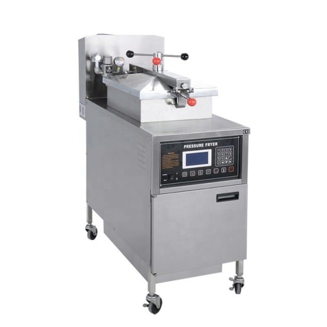 PFE-600 High Efficiency Electric Pressure Fryer Deep Fried Chicken Computer Panel Deep Fryers Electric Commercial Oil Fryer