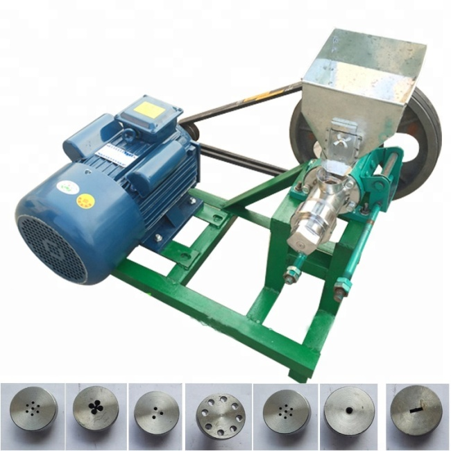 Round Corn Rice Extruder Snack Making Machine