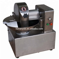 5L 8L Stainless steel meat bowl cutter high efficiency productive meat mincers vegetable cutter shredder meat cutters
