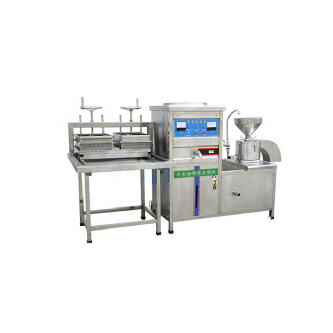 150-180kg/H Bean Curd Tofu Mold Pressed Maker Equipment Grinding  Boiling Molding Making Machine