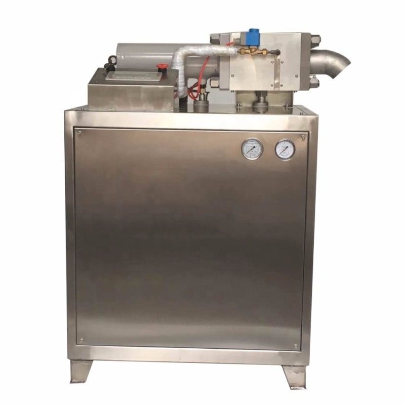 Vertical Cabinet Type Co2 Dry Ice Pellet Making Machine for Stage Wedding Cleaning Machine