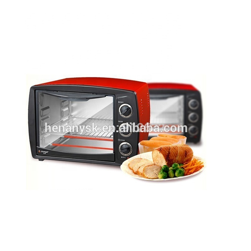 30L Electric Portable Toaster Bakery Pizza Thermometer Microwave Oven Desk Top Reflow Grill Oven Dish Tray Microwave Capacitor