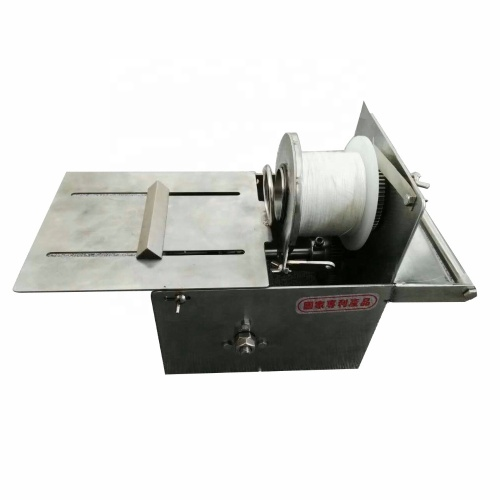 Manual Spiral Casing Cutter Wire Binding Linker Linking Sausage Stuffers Knotting Clipping Clipper Tying Machine