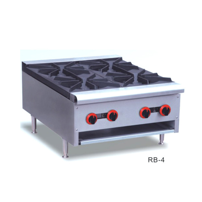 Hot Selling Table Top Commercial Lpg Gas Burner Cooktops Range Tops
