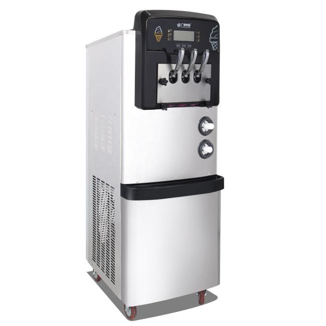 Discount 7sets BX328CED2  32L/H Vertical Soft Ice Cream Machine expansion function maquinas de helados Dafoss expansion valve