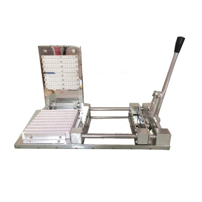 High Efficiency Hot Fast Food Manual Meat Satay Skewer Machine Doner Kebab Machines Lamb String Skewers