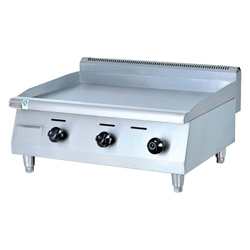 IS-GH-36 Counter Top Stainless Steel Gas Griddle Grill Machine Grill Food Machine