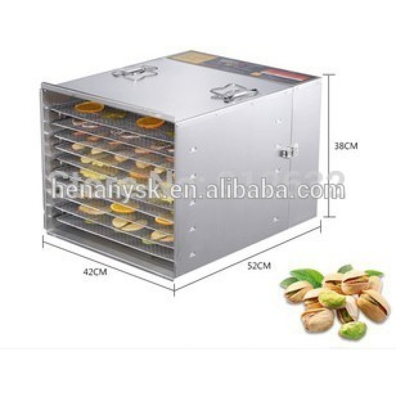 Healthy Nutritional 10 Layers Small Home Use Intelligent Fruit Dryer Drying dehydrator Machine