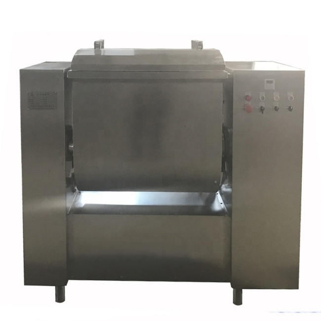 Stainless Steel Easy Operation Commercial 100 kg Vacuum Dough Mixer For Processing Flour Products